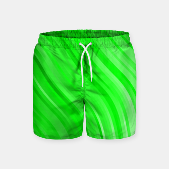 Thumbnail image of stripes wave pattern 1 devi Swim Shorts, Live Heroes