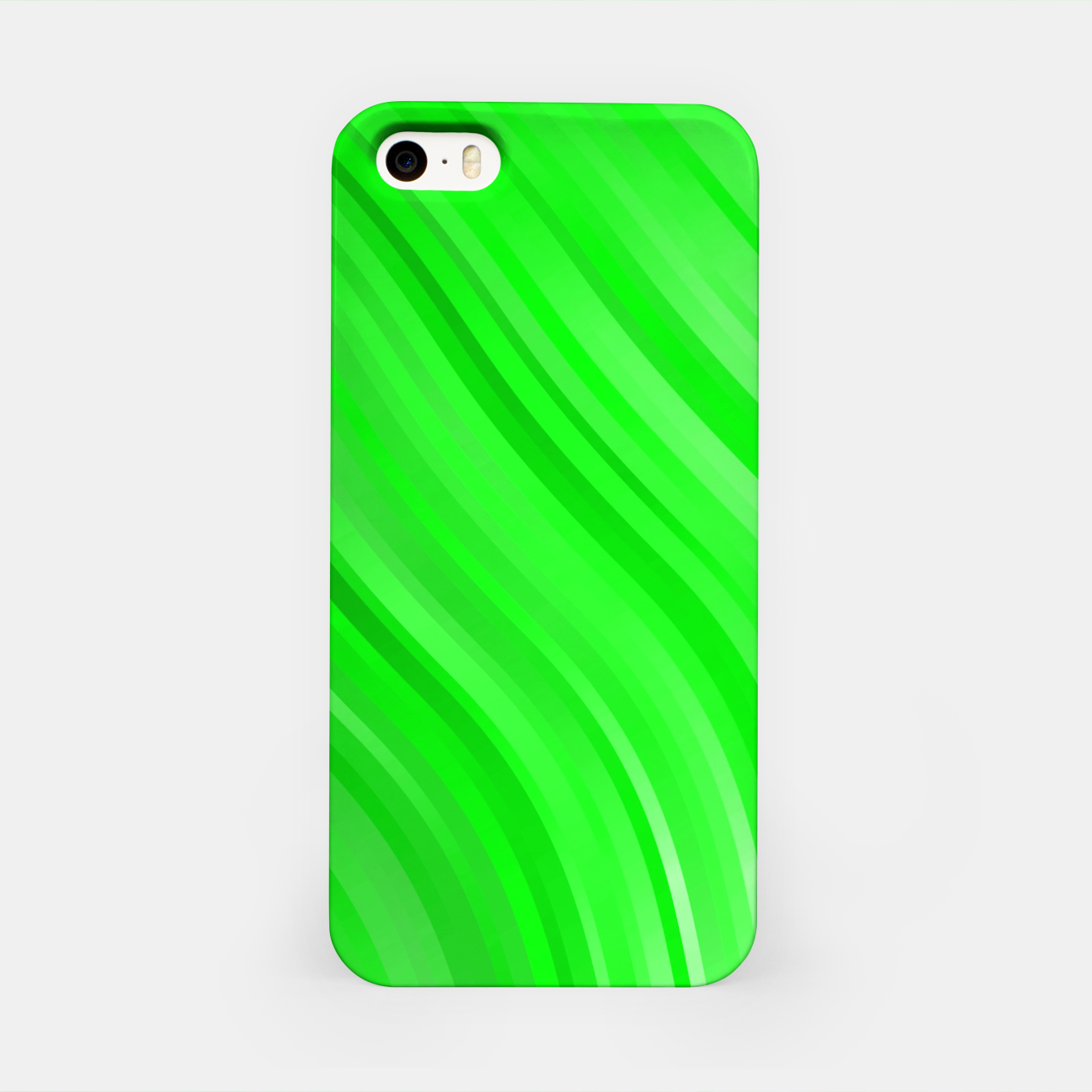 Image de stripes wave pattern 1 devi iPhone Case - Live Heroes