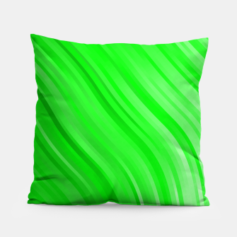 stripes wave pattern 1 devi Pillow miniature