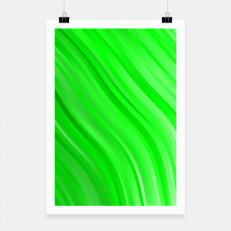 stripes wave pattern 1 devi Poster miniature