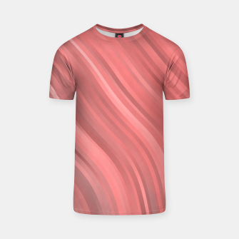 stripes wave pattern 1 drp T-shirt miniature