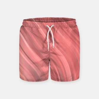 stripes wave pattern 1 drp Swim Shorts miniature