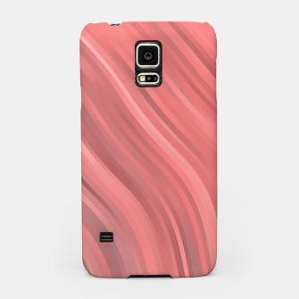 stripes wave pattern 1 drp Samsung Case miniature