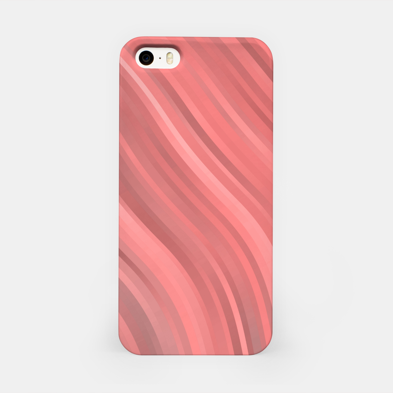 Image de stripes wave pattern 1 drp iPhone Case - Live Heroes