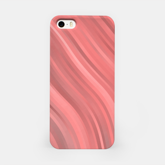 stripes wave pattern 1 drp iPhone Case miniature