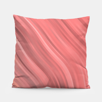 stripes wave pattern 1 drp Pillow miniature
