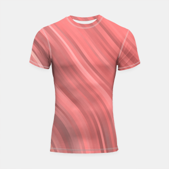 stripes wave pattern 1 drp Shortsleeve rashguard miniature