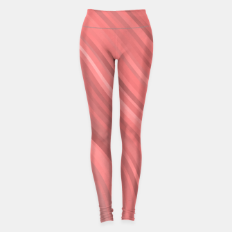 stripes wave pattern 1 drp Leggings miniature
