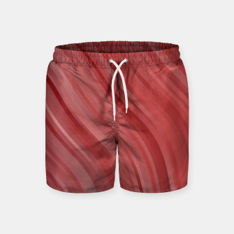 Thumbnail image of stripes wave pattern 1 drpi Swim Shorts, Live Heroes