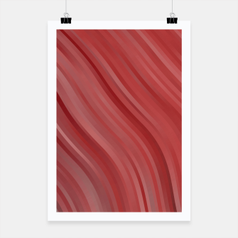 stripes wave pattern 1 drpi Poster miniature