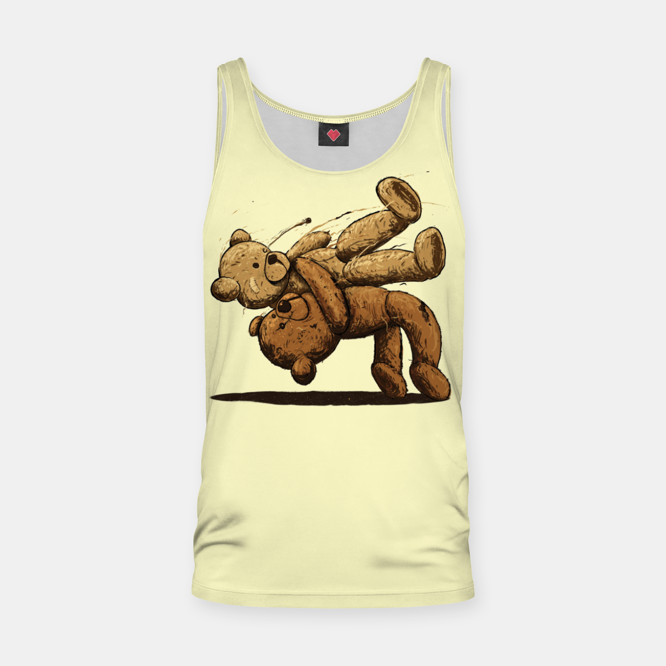 Image of Bear Hug Tank Top - Live Heroes