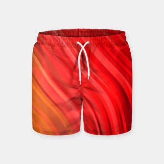 Thumbnail image of stripes wave pattern 1 drv Swim Shorts, Live Heroes