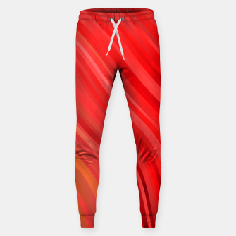 stripes wave pattern 1 drv Sweatpants miniature