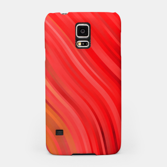 stripes wave pattern 1 drv Samsung Case miniature