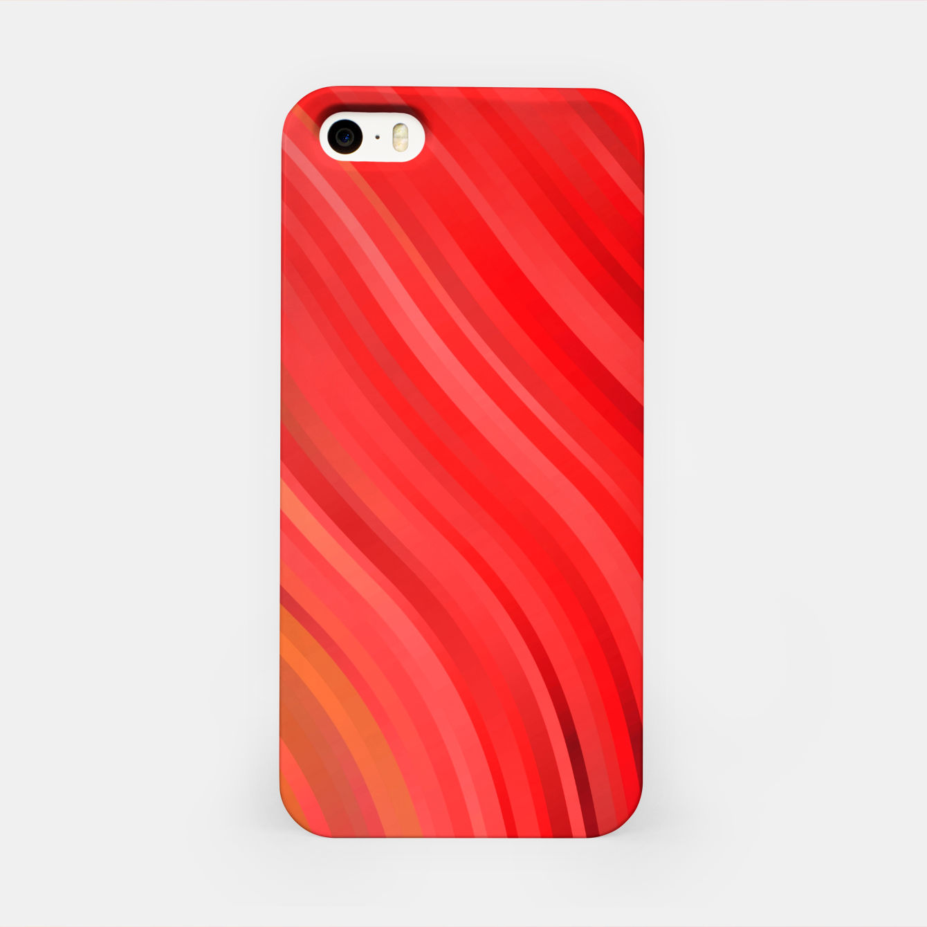 Image de stripes wave pattern 1 drv iPhone Case - Live Heroes