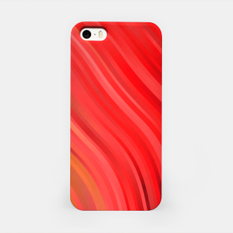 stripes wave pattern 1 drv iPhone Case miniature