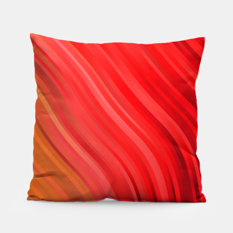 stripes wave pattern 1 drv Pillow miniature