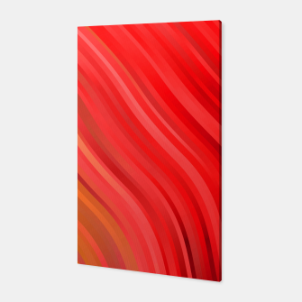 stripes wave pattern 1 drv Canvas miniature