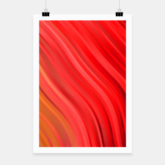stripes wave pattern 1 drv Poster miniature