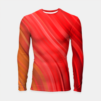 stripes wave pattern 1 drv Longsleeve rashguard  miniature