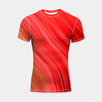 stripes wave pattern 1 drv Shortsleeve rashguard miniature