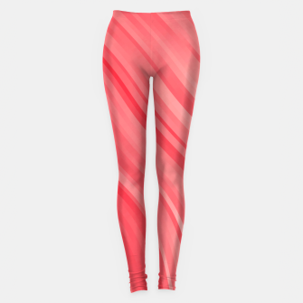 stripes wave pattern 1 drvi Leggings miniature
