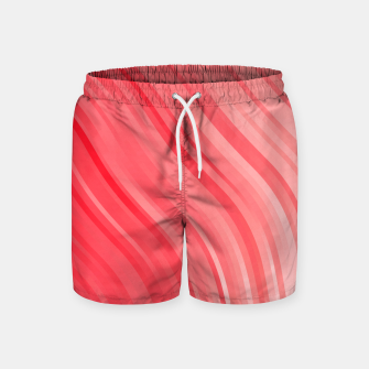 Thumbnail image of stripes wave pattern 1 drvi Swim Shorts, Live Heroes