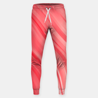 stripes wave pattern 1 drvi Sweatpants miniature