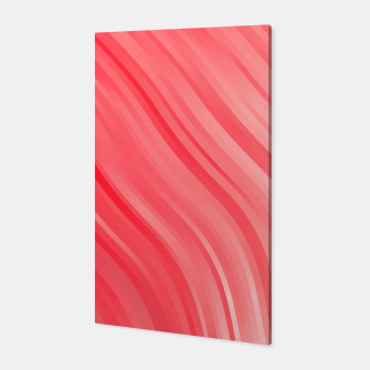 stripes wave pattern 1 drvi Canvas miniature