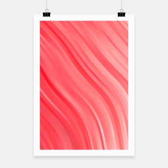 stripes wave pattern 1 drvi Poster miniature