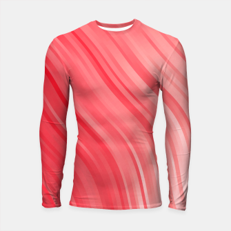 stripes wave pattern 1 drvi Longsleeve rashguard  miniature