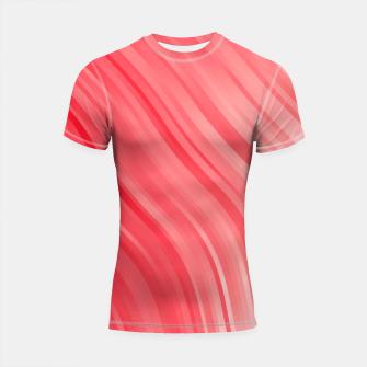stripes wave pattern 1 drvi Shortsleeve rashguard miniature