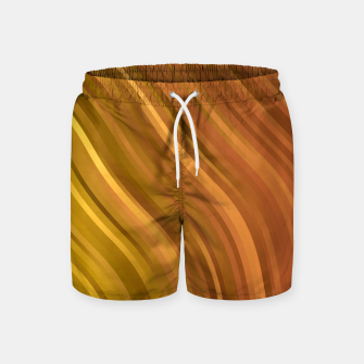 Thumbnail image of stripes wave pattern 1 eep Swim Shorts, Live Heroes