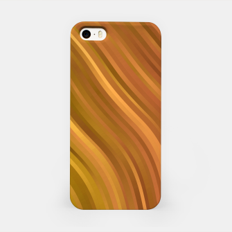 stripes wave pattern 1 eep iPhone Case miniature