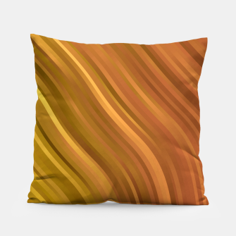 stripes wave pattern 1 eep Pillow miniature