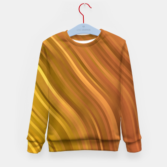 Miniature de image de stripes wave pattern 1 eep Kid's sweater, Live Heroes