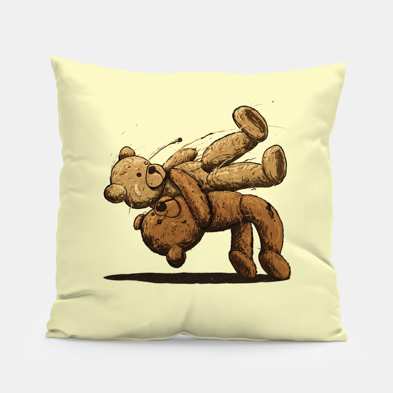 Image of Bear Hug Pillow - Live Heroes