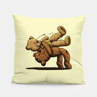 Thumbnail image of Bear Hug Pillow, Live Heroes
