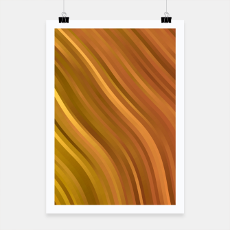 stripes wave pattern 1 eep Poster miniature