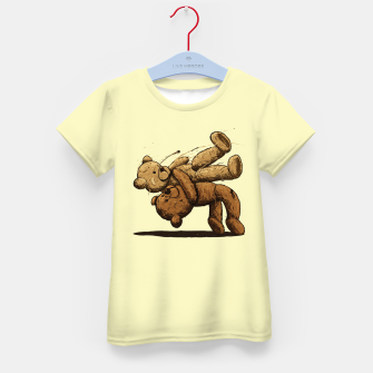 Thumbnail image of Bear Hug Kid's t-shirt, Live Heroes