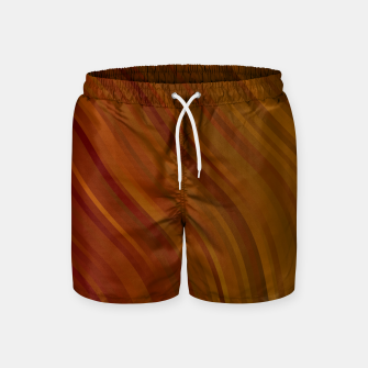 Thumbnail image of stripes wave pattern 1 eepi Swim Shorts, Live Heroes