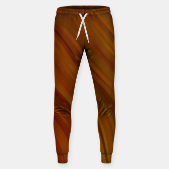 stripes wave pattern 1 eepi Sweatpants miniature