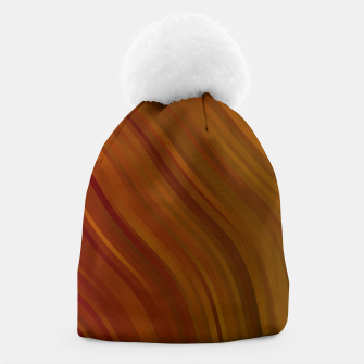 stripes wave pattern 1 eepi Beanie miniature