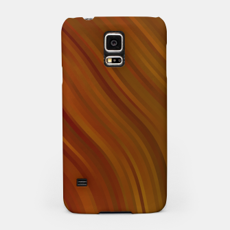 stripes wave pattern 1 eepi Samsung Case miniature