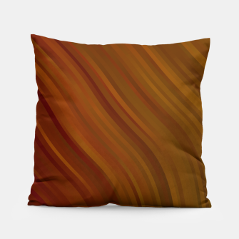 stripes wave pattern 1 eepi Pillow miniature