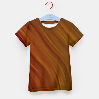 stripes wave pattern 1 eepi Kid's t-shirt miniature