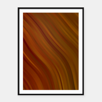stripes wave pattern 1 eepi Framed poster miniature