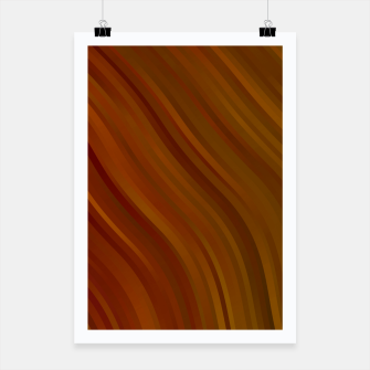 stripes wave pattern 1 eepi Poster miniature