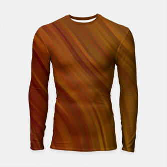stripes wave pattern 1 eepi Longsleeve rashguard  miniature