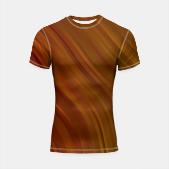 stripes wave pattern 1 eepi Shortsleeve rashguard miniature